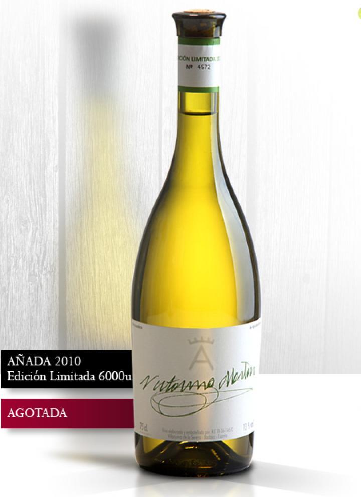 Botella de vino Victorino Añada 2010